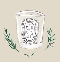 Diptique Feu de Bois by Chiara Arkesteijn