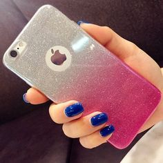 Bling Brillante Glitter Silicona Suave Carcasa TPU Funda Para IPhone 7 PlUS 6 6S