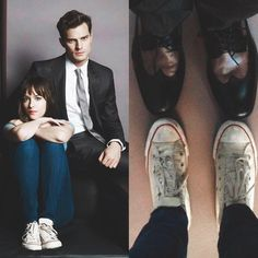 """""""they took the shoes-selfie the same day of the very first phootshoot !!! this makes me so emotional…"""""""