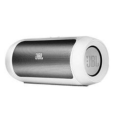 JBL Charge II tragbarer Bluetooth Stereo Lautsprecher (2x 7,5 Watt) inkl. Li-Ion Akku (6000mAh) weiß