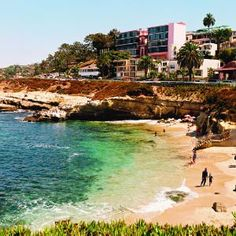 La Jolla Cove is supposed to be one of the most beautiful beaches in the United States.