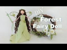 Wooden People, Crafts For Kids, Diy Crafts, Forest Fairy, Doll Tutorial, Fairy Dolls, Diy Doll, Faeries, Craft Stores