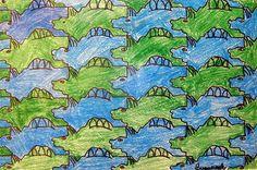 Tessellations by 7thg rade student