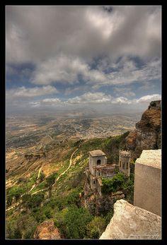 #Sicily :: Erice :: il castello di Venere http://BeachCam.WorldVentures.Biz