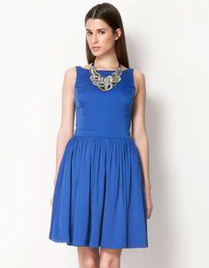 Bershka Czech Republic - Bershka full skirt dress
