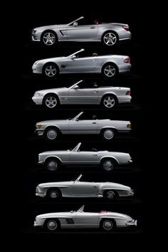 The Evolution of the Mercedes Benz SL