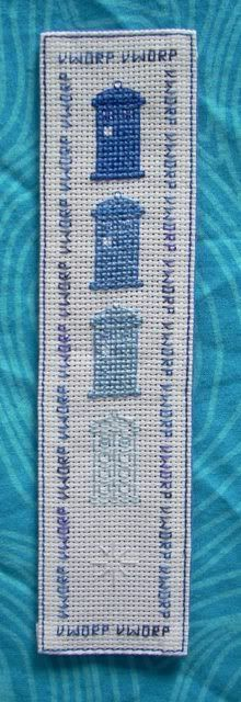crafty_tardis: More Cross Stitch Bookmarks!