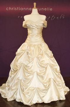 Future Belle Wedding Gown!
