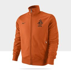Netherlands Authentic N98 Men's Soccer Track Jacket