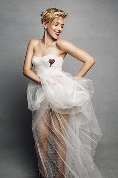 Scarlett Johansson • Marie Claire Mar 2017