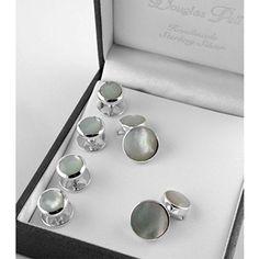 Martini Glass Cufflinks /& Studs Formal Set by Cuff-Daddy