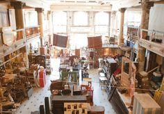 Vintage Hardware in Astoria, Oregon....My most favorite vintage shop!