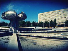 Fontána - Gottko Bratislava, Gate, Electric, Clouds, Dreams, Country, Diamond, Travel, Viajes