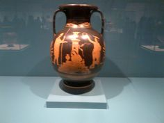 electra sobre la tumba de agamenon Vase, History, Home Decor, Crete Greece, Greek Mythology, Greek, Serif, Homemade Home Decor, Flower Vases