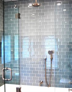 Grey grout subway tiles and grout on pinterest - Nice subway tile bathroom designs with tips ...