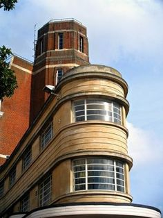 art deco architecture england - bournemouth - art deco