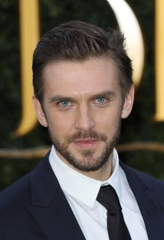 Dan Stevens at the London premiere of *Beauty and the Beast*