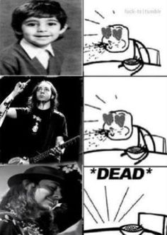 This is how I feel xD haha Daron Malakian from System Of A Down and Scars On Broadway :)