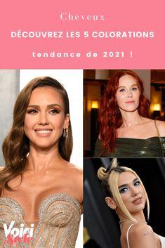 Envie de donner de la couleur à vos cheveux ? Raphaël Malicot, expert coloriste nous dit quels couleurs auront la cote en 2021. C'est à lire sur voici.fr Dit, Voici, Coloring, Envy, Colors, Hair