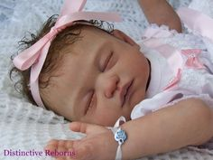 Distinctive Reborns  PROTOTYPE  Lifelike Reborn Baby Girl Doll. SOFTLINE CARINA