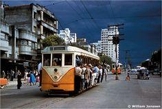 Década de 50. Começo da Av. Paraná,Belo Horizonte