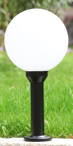 French Globe Garden Light Espace by Roger Pradier