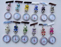 Jewelry & Watches Nurses Beaded Fob Watch