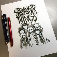 15 Ilustrações de Stranger Things, nova série do Netflix                                                                                                                                                                                 Mais