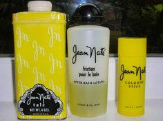 vintage '70s or '80s Jean Nate powder after bath splash