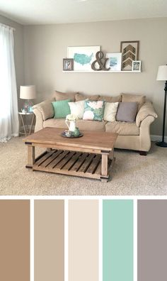 √ 35 Best Living Room Color Scheme Ideas Brimming With Character Beautiful small living room color schemes that will make your room look professionally designed for you that are cheap and simple to do. Living Room Colour Design, Living Room Color Combination, Good Living Room Colors, Cozy Living Rooms, Living Room Interior, Living Room Designs, Living Area, Grey Living Room Ideas Color Schemes, Blue And Brown Living Room