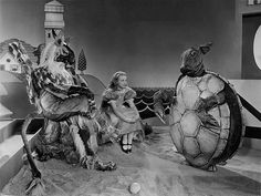@: Then in 1933 Alice in Wonderland, with Gary Cooper as the White Knight and W.C. Fields as Humpty Dumpty and Cary Grant as the Mock Turtle.