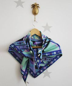 Emilio Pucci vintage scarf. Pucci Emilio pucci silk scarf