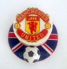Manchester United - Cake by Nessie - The Cake Witch
