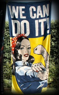 Rumble 59, Towel We Can Do It!