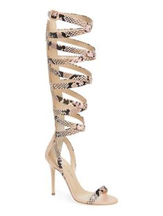 Giuseppe Zanotti. Nude ShoesGladiator SandalsWomen SandalsKnee HighsJennifer  LopezBoot ...