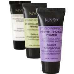NYX cosmetics primer. NYX products are great and so reasonable. I buy them at Ulta. Always use a primer before your foundation. Your makeup lasts so much longer and looks better. You seldom have to touch up during the day. Biddy Craft
