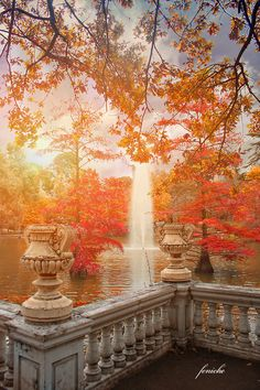 Madrid in Autumn, Spain