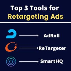 Who is familiar with retargeting in the community? For those of you who never tried it, we recommend it. It allows you to target users that already completed a meaningful action on your website.  Another tool is the Facebook Pixel, which we decided not to include in this post as it's technically a snippet of code, rather than a platform like these 3 up here 👆🏼  Let us know if you ever used retargeting before 💬 Marketing Ideas, Target, Platform, Coding, Action, Community, Ads, Let It Be, Facebook