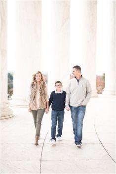 Jefferson Memorial // Brooks Family - Leigh Ann Burdett Photography