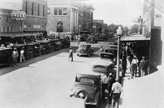Main Street, Warren, Arkansas, 1920's is located at the Bradley County Historical Museum