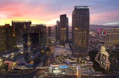 What attracts you the most when you visit a big city? Tourist attraction! Most of tourist attractions are huge... -  The Cosmopolitan of Las Vegas is shown at sunset in Las Vegas . Discover More at: http://www.topteny.com/top-10-expensive-buildings-world/