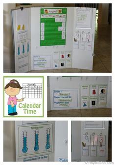 Our New Calendar Board with Free Printables from Royal Baloo