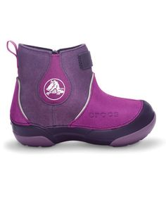 Take a look at this Viola & Mulberry Dawson Boot by Crocs Kids on #zulily today!