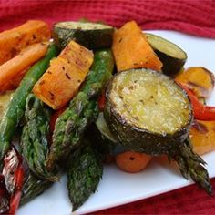 """Roasted Vegetable Medley   """"It is amazing that anything so simple can be so delicious. I want to have this with every meal. fantastic!"""""""