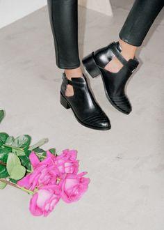 Leather ankle boots   Leather ankle boots   & Other Stories £95