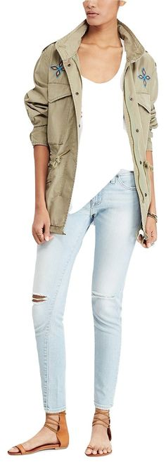 Denim and Supply Ralph Lauren Field Jacket L *** Be sure to check out this awesome product. (This is an affiliate link) #womenscoatsjacketsvests
