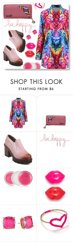 """""""Be Happy !"""" by simona-altobelli ❤ liked on Polyvore featuring Natural Life, Clinique, Kate Spade and Jordan Askill"""