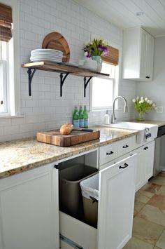 Kitchen remodel details and info on adding more storage | chatfieldcourt.com