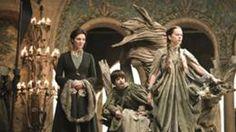 Catelyn, Robert y Lysa en juicio de Tyrion HBO