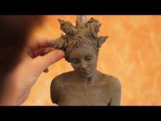 Tutorial: sculpting a female body in clay. www.sculpturered.com - YouTube